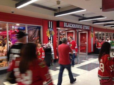 3e99646d7fd Blackhawks fans are now able to preview the entire Blackhawks roster or  preview their own personalized jersey. To view pictures of the new set up  please ...